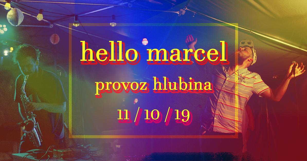 hello marcel koncík cover
