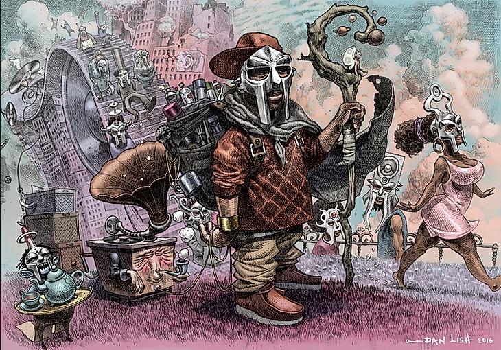 Antiikona MF DOOM: Odkaz muže za železnou maskou